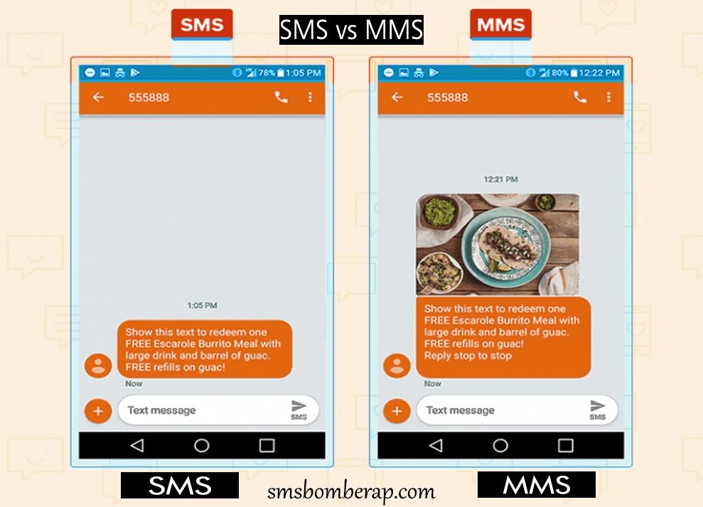 SMS vs MMS